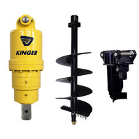 Construction Machinery Parts KINGER hydraulic mini excavator auger for sale