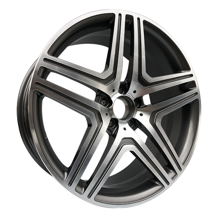 Brushed grey color 5 hole forged wheel rims for upgrade merced benz g class alloy wheel rims rims merce amg for wheels