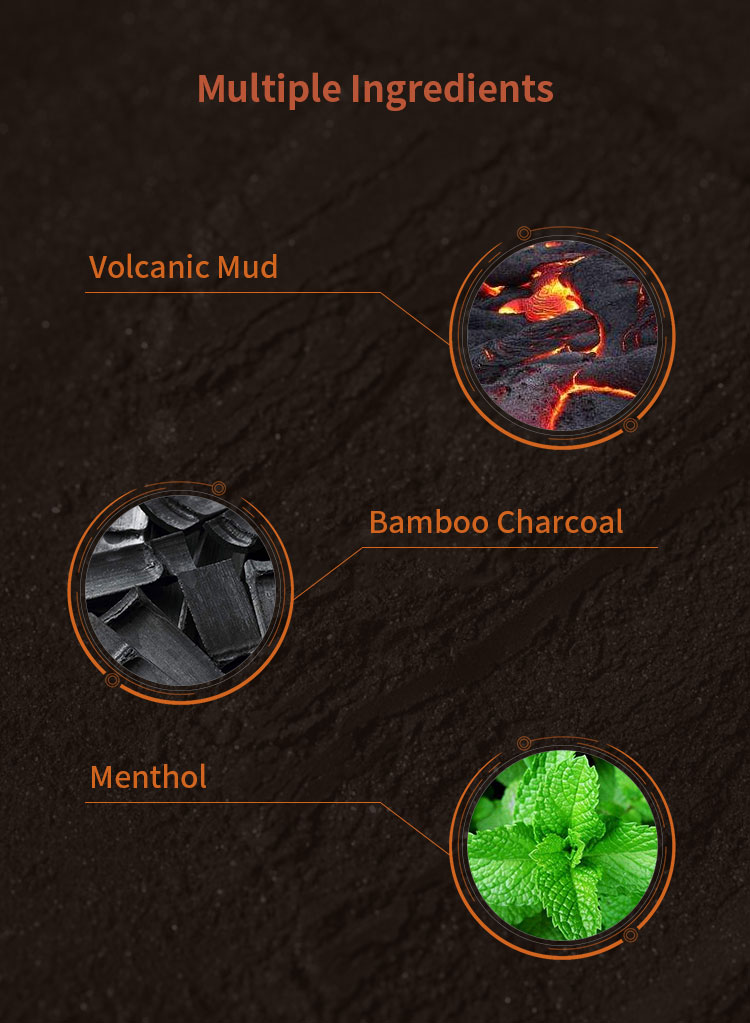 Gratis Monster Groothandel Vulkanisch Gesteente Minerale Rode Modder Pure Matte Gezicht Wassen Beste Aanbevolen Gezichtsreiniger Voor Mannen