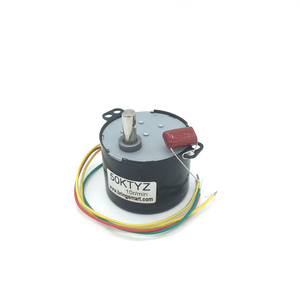 Bringsmart 50KTYZ 24V AC Synchronous Motor CW/CCW Mini Gear Motor 2.5rpm 30rpm 50rpm Slow Speed Reducer Permanent Magnet Motors