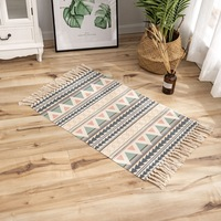 Wholesale Factory Modern Digital Custom handmade Printed Cotton Rugs For Home Decor