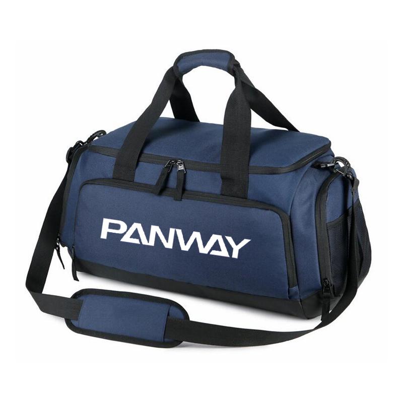 Durable de gran capacidad diseñado bolsa de lona y la noche bolsa de viaje impermeable de los deportes bolsa de gimnasio