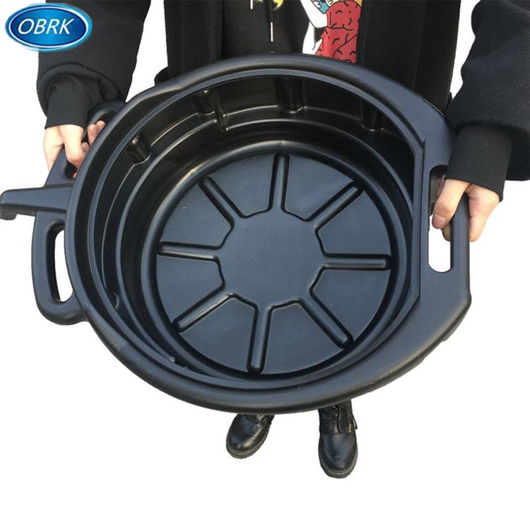 Best Selling Long Hosepipe Car Oil Black Plastic Funnel with Filter