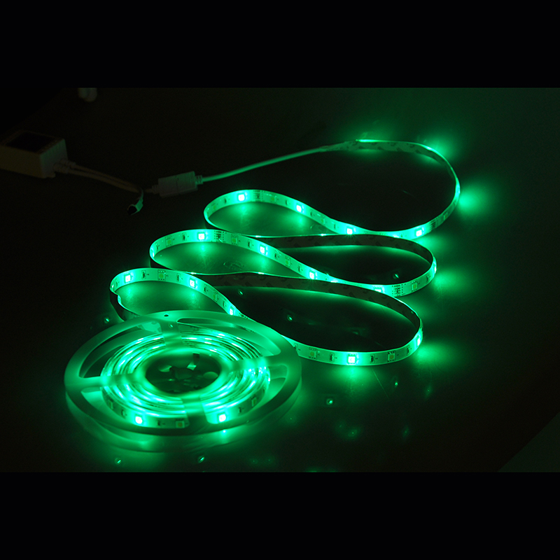 Smart rgb led coloured waterproof  strip lights flexible  tape led light