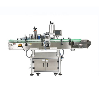 NY-822B Full Auto Round Bottle Front and Back Double Sided Two Stickers Labeling Machine