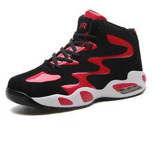 Пара модных баскетбольных кроссовок, повседневная Молодежная Баскетбольная обувь, износостойкая Складная Баскетбольная обувь(Китай)
