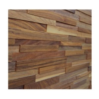 Green nature material decorative wall panel wood 3d wall covering panel