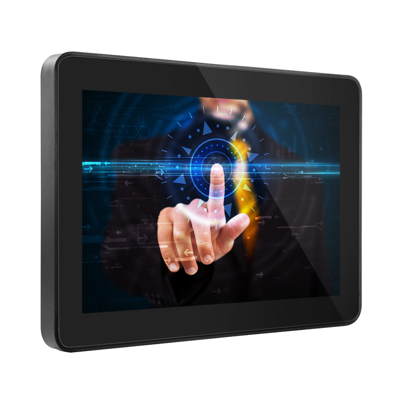 Open Frame 10 Inch Industrial Lcd Touch Screen Monitor IPS Screen 1280x800 Type B USB