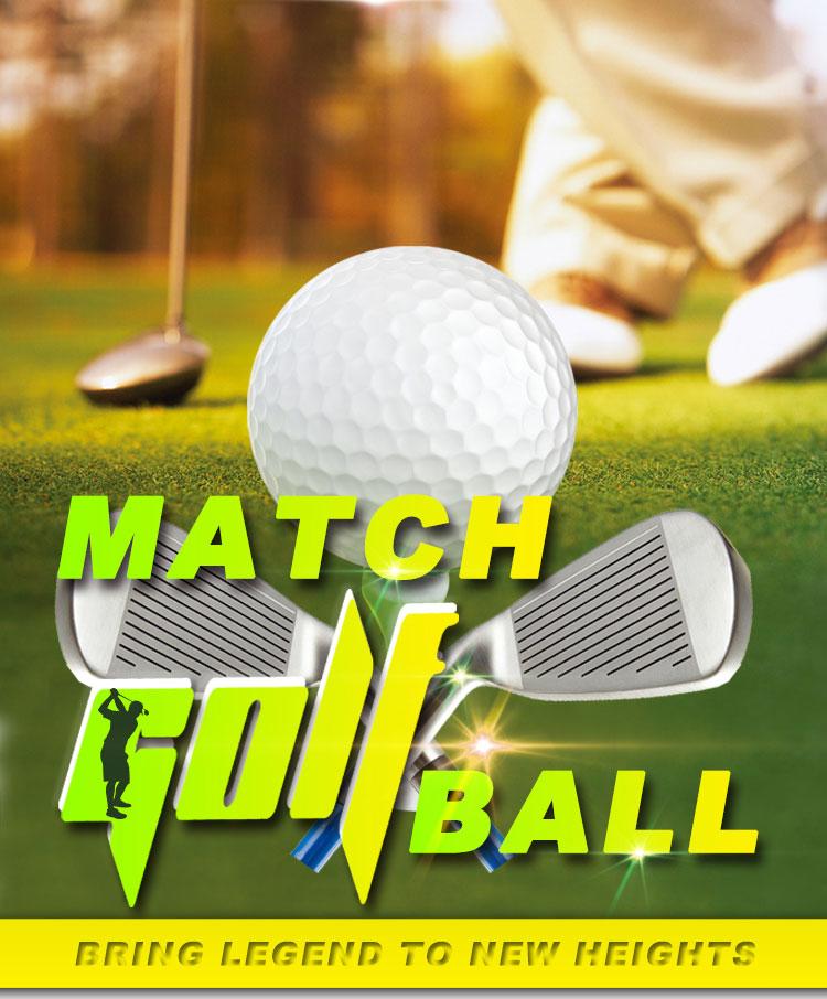Alta Qualidade Bolas de Golfe Em Branco Bola de Golfe Driving Range de Amostras Grátis