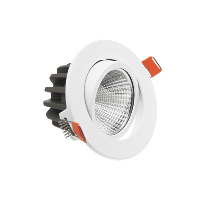 commercial led down light aluminum downlight tunable 18w cob recessed modern downlights