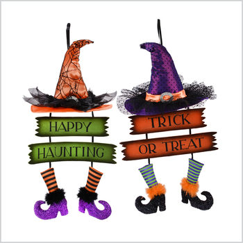 Witch Sign Halloween Wall Hanger Popular Wholesale Festival Items - Buy  Popular Wholesale Festival Items,Halloween Wall Hanger,Wall Hanger Product  on