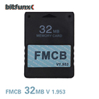 Game Accessories 32MB FMCB V1.953 Free Mcboot Card Memory Card For PS2