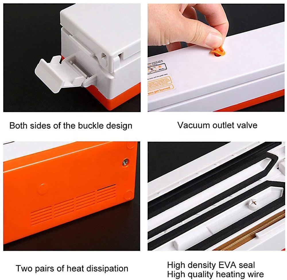 DDD Vacuum Sealer Machine, Portable Automatic Vacuum Sealer Food Saver