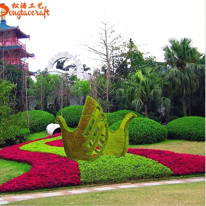 Landscaping Decoration Customized Large Outdoor Topiary Wire
