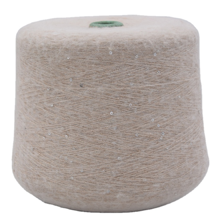 Factory Hot Sales Weaving Mohair/Acrylic Blend Yarn For Knitting