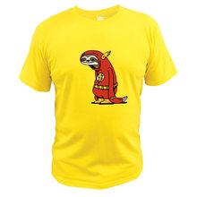 Мужская футболка из 100% хлопка, Повседневная футболка с рисунком, европейский размер(Китай)