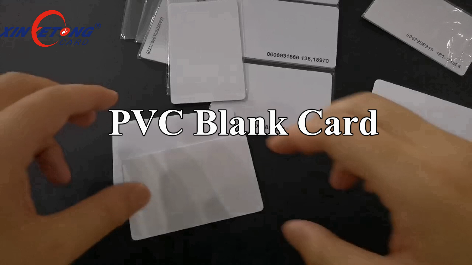 Dual chips Hot sales OEM/ODM Inkjet Printable white Color customized PVC Card