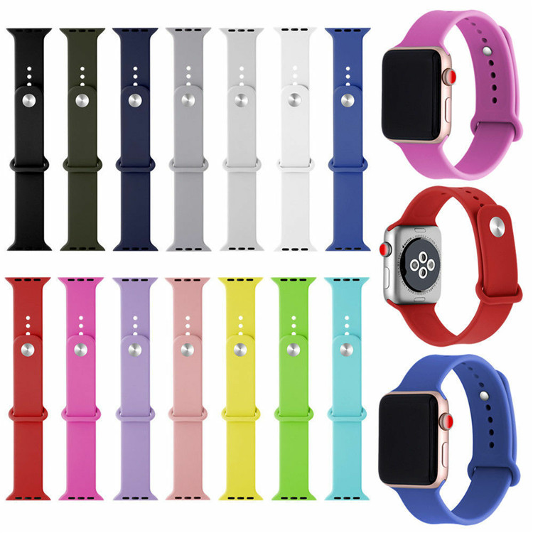 42 미리메터 apple 실리콘 watch band strap