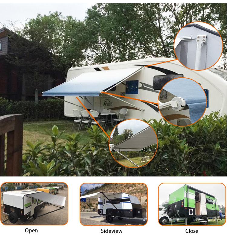 Wareda Factory Direct Sale Rv Camper Caravan Awnings For ...