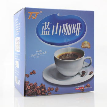 OEM factory price hot-selling Blue Mountain 3 in 1 instant coffee with sample free