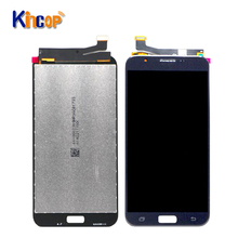 Testati Al 100% di <span class=keywords><strong>Lavoro</strong></span> Perfetto LCD di Ricambio Display Touch Con Digitizer Touch Screen Per Samsung Galaxy J7 2017 J727 LCD
