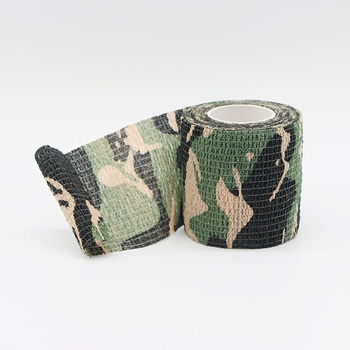 Military Camouflage Tape Camo Wrap Outdoor Self-Adhesive Protective Camo Form Non-Woven Fabric Tape