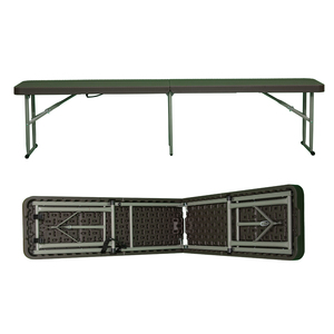 Wholesale Outdoor / Garden / Portable Plastic Folding Beer Bench table bench