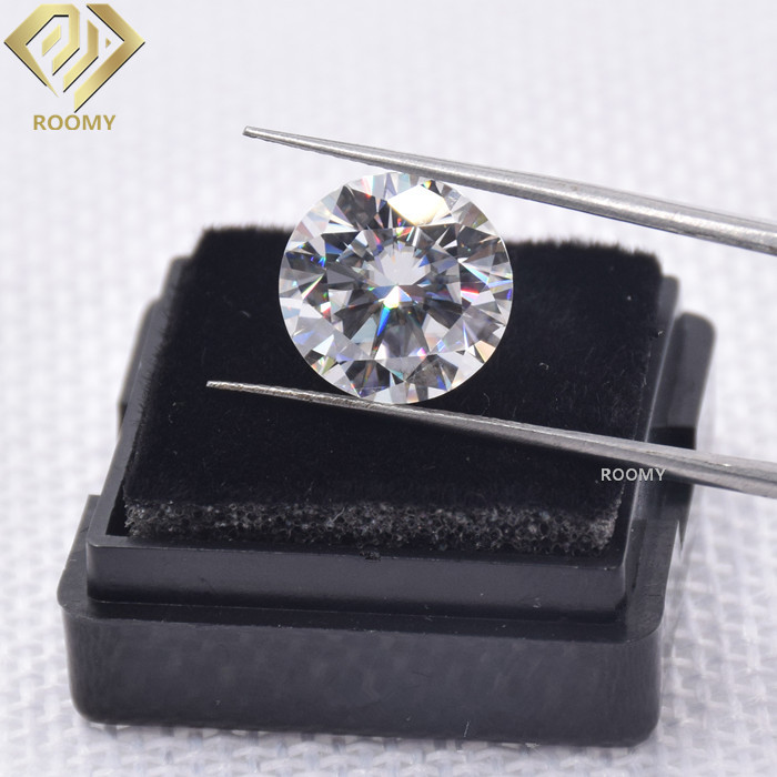 loose D color white 1carat 6.5mm excellent moissanite <strong>diamond</strong>