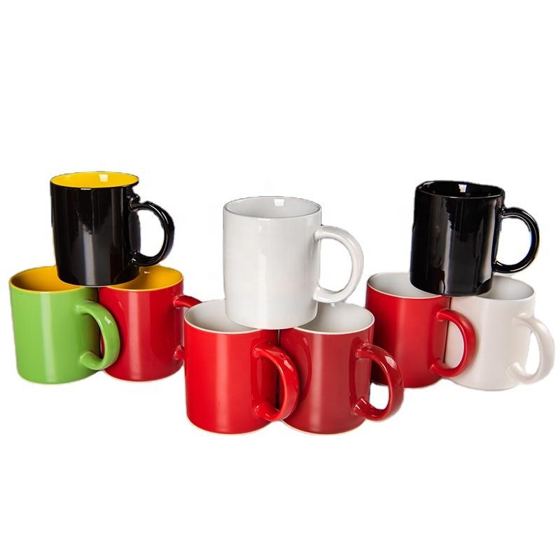 OEM Customized Blank Printed Ceramic Mug Wholesale Custom Logo Plain White Coffee Cheap Ceramic Mug