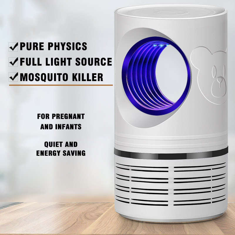 Flying Insect Repellent Trap Bug Zapper Pest Control Reject Product Moskito Mosquito Killer Lamp Anti Moustique