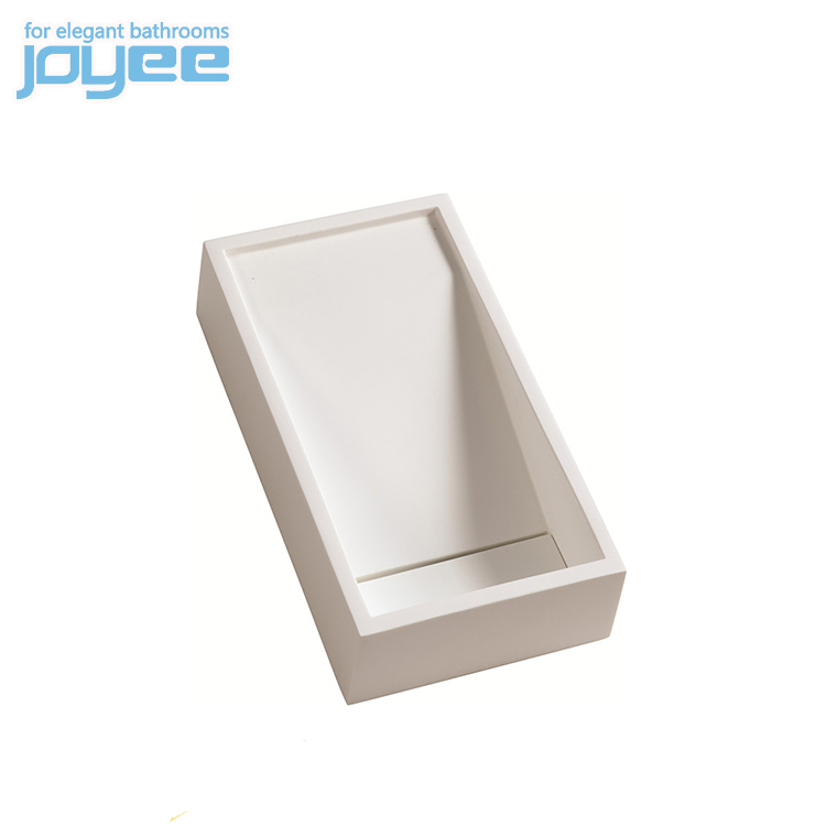 JOYEE wall mouted wash used mop sink stone rectangular wash basin