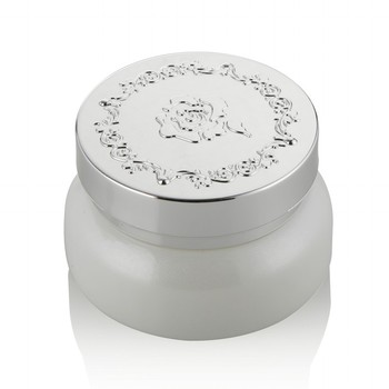 30g 50g glass jar cosmetic packaging matte white glass facial cream jar with aluminum cap