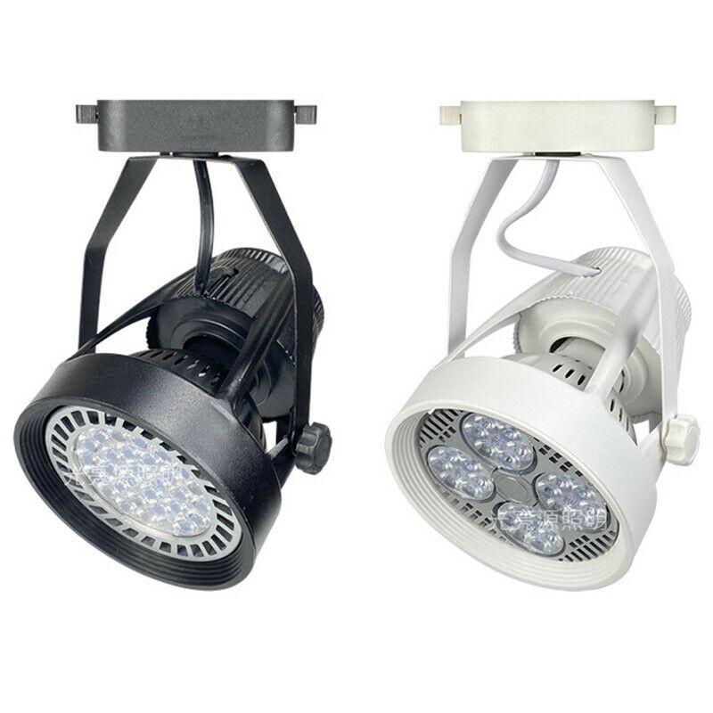 24W 35W Aluminium LED Track Light Spotlight With PAR30 Lamp Modern High Lumen For Commercial Indoor Shop Room