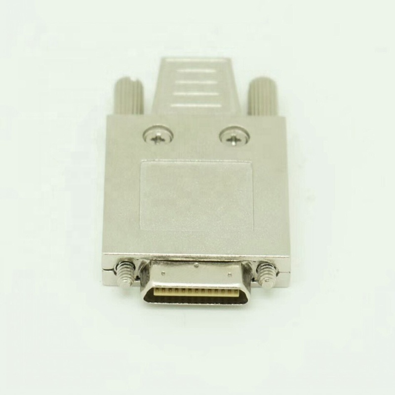 0.8mm pitch <strong>V26</strong> position VHDCI 26 pin male 26 ways SCSI Connector