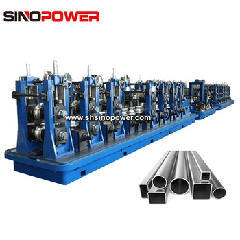Galvanized steel square and rectangular pipe production line with planning team