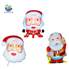 Noel Baba <span class=keywords><strong>Folyo</strong></span> <span class=keywords><strong>balon</strong></span> 3D karikatür <span class=keywords><strong>balon</strong></span> Noel serisi Parti dekorasyon balonu merry Christmas
