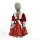 High Quality Kids Santa Claus Dance Dress Christmas Costume For Girl