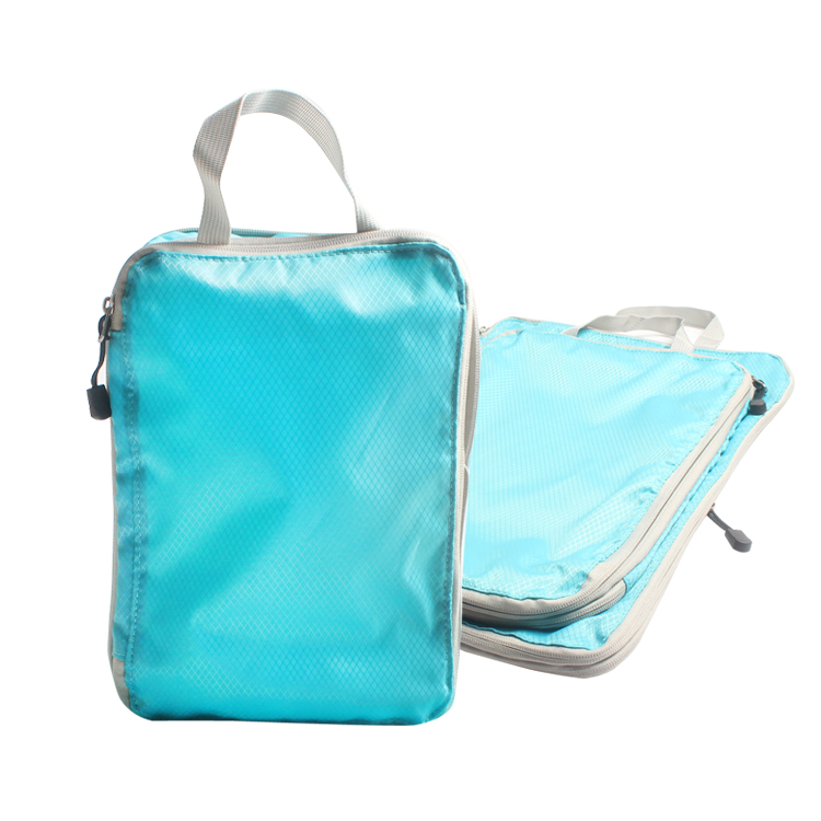 Customized Travel Packing Cubes Compression Luggage Organizer Packing Cubes