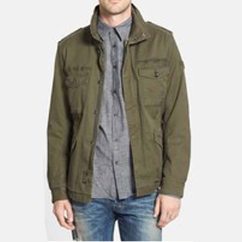 High quality hot sale outdoor utility cotton canvas military jackets fashion men