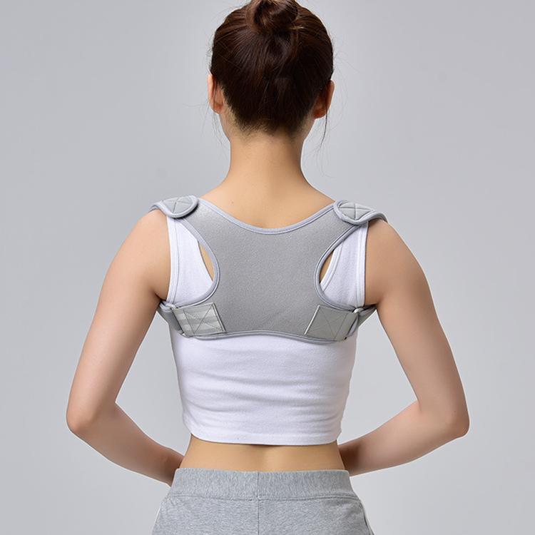 Toptan neopren üst geri destek omuz duruş düzeltici brace unisex