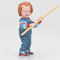 Horror Movies Child's Play Bride of Chucky 1/10 Scale Horror Doll Toy Dropshipping NECA Scary Web Chucky Figure Toys