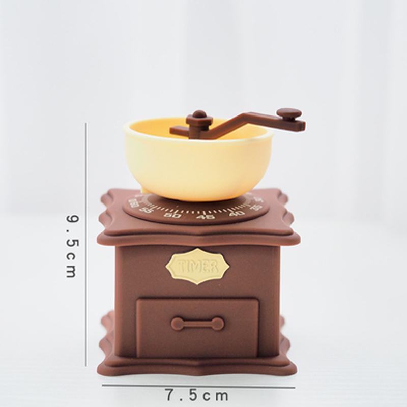 Кухня приготовления таймер Moka горшок вспениватель молока Кофеварка измельчитель дизайн 60 минут обратного отсчета время обучения таймер до...(Китай)