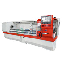 SIECC CNC Machine Tool Equipment 7.5kw Heavy Duty Metal Lathe