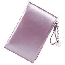 Простой стиль женский кошелек Портмоне Мини креативный Кошелек для монет Мини Женский держатель для карт(Китай)