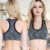Latest anti-bacterial comfortable nylon spandex heather everyday young girl bra