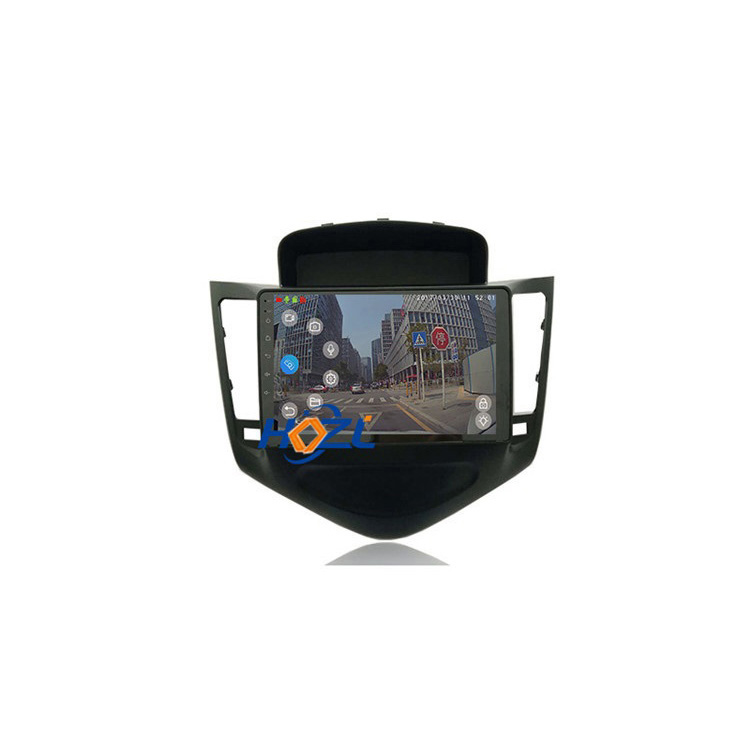 Alta Qualidade Do Carro Auto Rádio din 9 2 polegadas Car Multimedia Player GPS Touch Screen Full HD 1080P Para chevrolet Cruze 2013 2014 2015