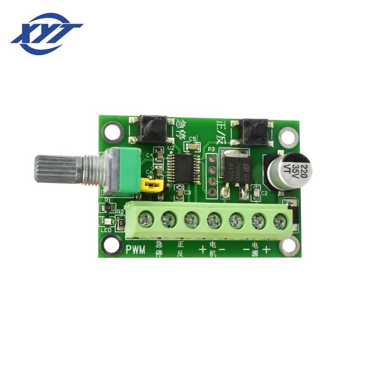 ثنائي القناة 2kh 20khz فرش جهاز تحكم في محرك التيار المستمر لنموذج 3650 3525 2430 2418 Pwm Mach3 التحكم في السرعة