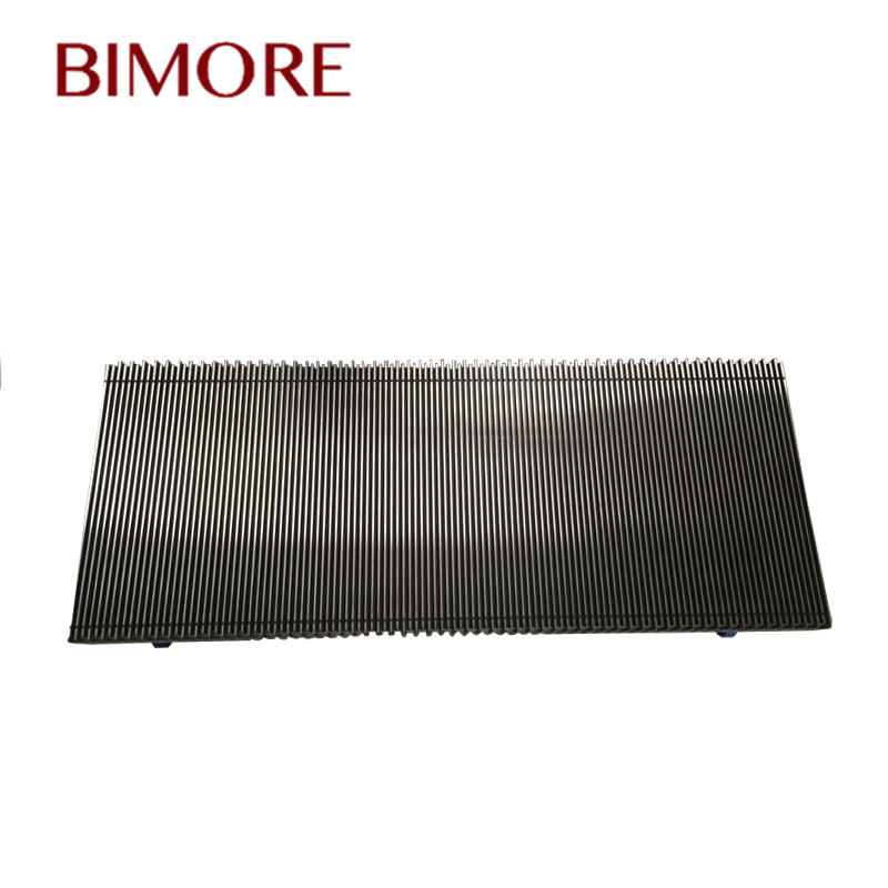 Bimore Escalator Aluminum Alloy Step completed grey 1000mm Stock Escalator Parts GAA26140M