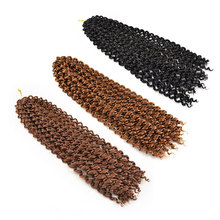 22 brins Passion Torsion Printemps Curl Crochet Extensions De Cheveux Ombre Tresses Au Crochet Pré Torsion Cheveux
