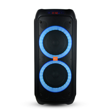 "Feiyang <span class=keywords><strong>JBL</strong></span> Dual 8 ""Super Bass Portabel Bluetooth Tws Indoor Outdoor Pesta Kotak Speaker <span class=keywords><strong>Sistem</strong></span> Audio dengan Baterai Isi Ulang"
